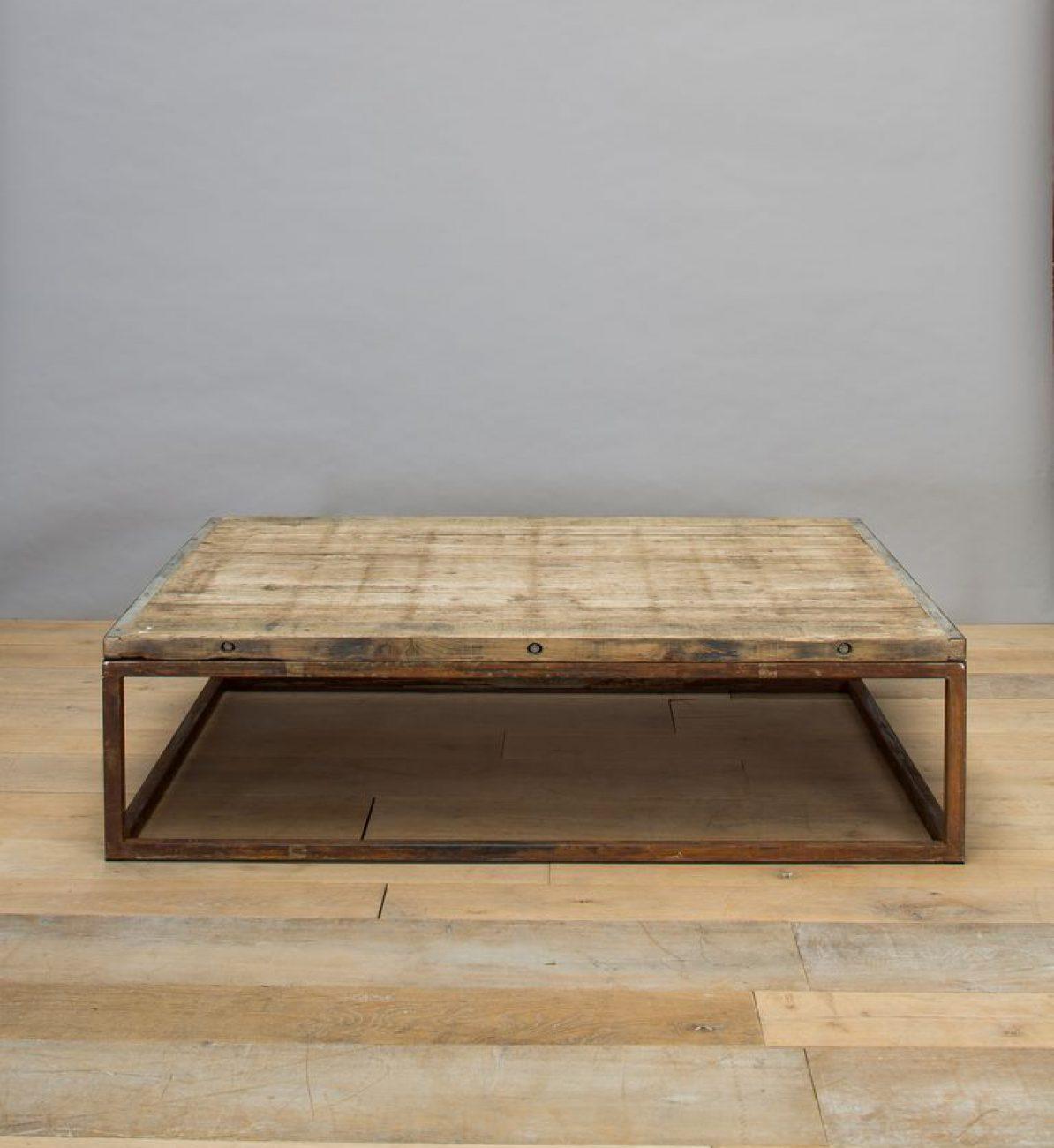 Table basse Briquetterie