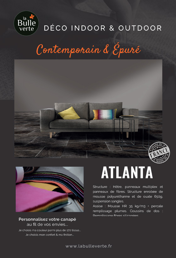 Canapé Atlanta La Bulle Verte