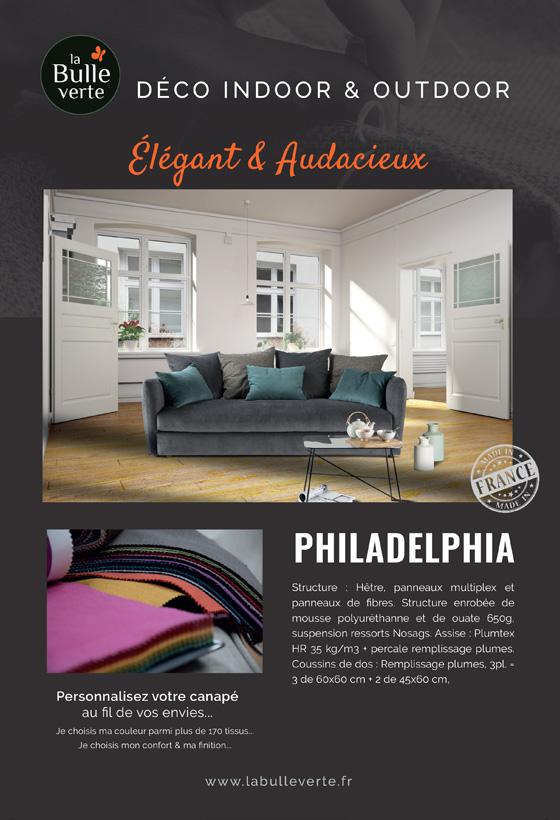Canapé Philadelphia La Bulle Verte